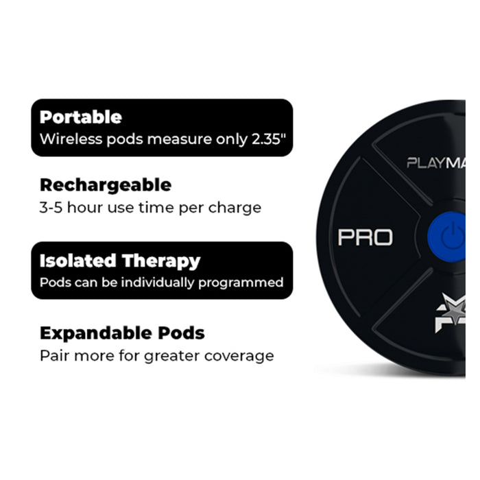 PlayMakar PRO Expandable Receiver Pods