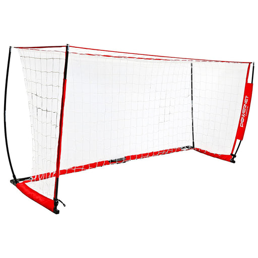 PowerNet Soccer Goal 14 x 7 ft. Portable Bow Style Net