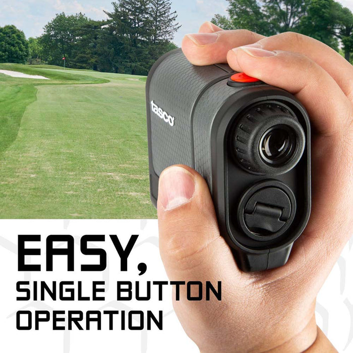 Tasco T2G Golf Laser Rangefinder - Single Button Operation - Used