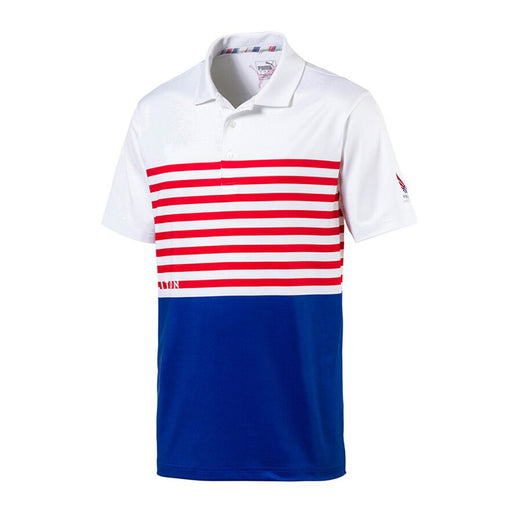 PUMA Volition CK6 Flag Golf Polo