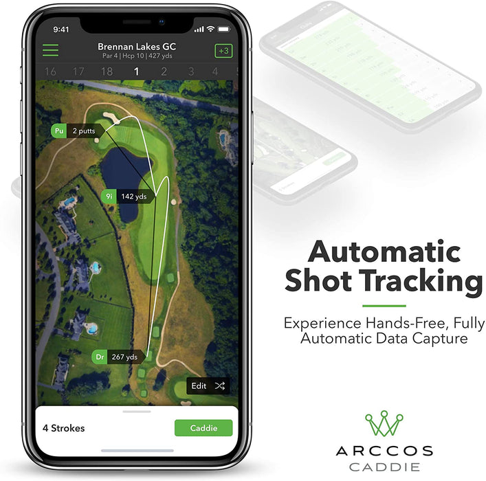 Featuring Automatic Shot Tracking to Experience Hands-Free, Fully Automatic Data Capture