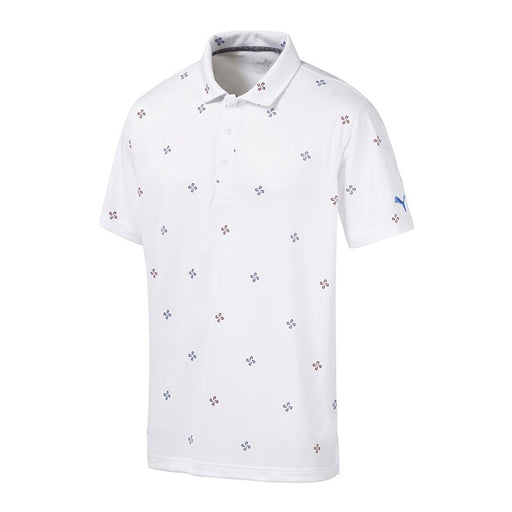 PUMA Ditsy Golf Polo