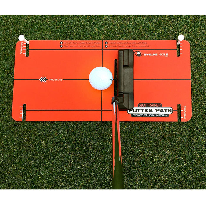 Slot Trainer System by Jon & Jim McLean by EyeLine Golf