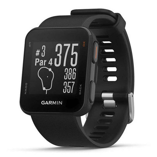 Garmin Approach S10 GPS Golf Watch - Black - Right Angle