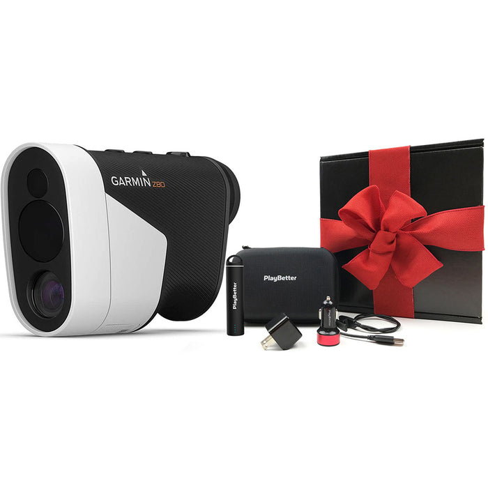 Garmin Approach Z80 Golf Rangefinder & GPS - PlayBetter Gift Box with Red Bow