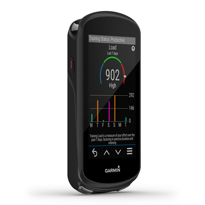 Garmin Edge 1030 Plus GPS Bike Computer - Training Status Display - Used - Left Angle