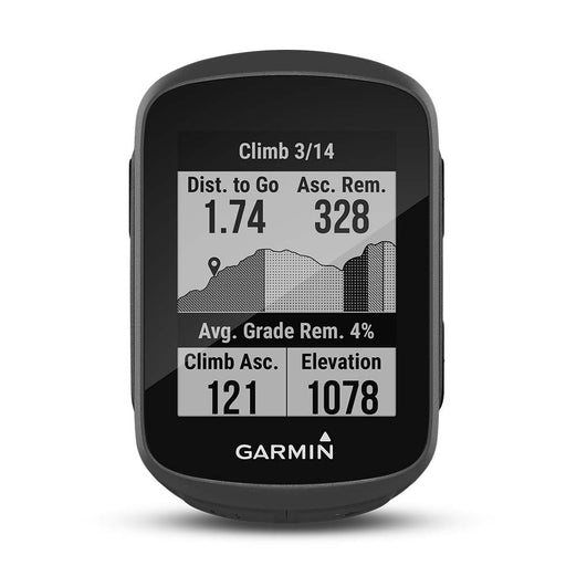 Garmin Edge 130 Plus GPS Bike Computer‎ - Front Angle