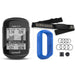 Garmin Edge 130 Plus GPS Cycling Computer‎ with Garmin HRM-Dual, PlayBetter Screen Protectors and Blue Silicone Case