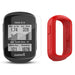Garmin Edge 130 Plus GPS Cycling Computer‎ with PlayBetter Screen Protectors and Red Silicone Case