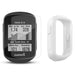 Garmin Edge 130 Plus GPS Cycling Computer‎ with PlayBetter Screen Protectors and White Silicone Case
