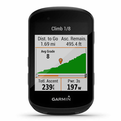 Garmin Edge 530 Performance GPS Cycling Computer ‎- Front Angle