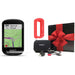 Garmin Edge 830 Touchscreen Cycling Computer - PlayBetter Gift Box Bundle with Red Silicone Case