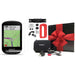 Garmin Edge 830 Touchscreen Bike Computer - Sensor Bundle - PlayBetter Gift Box Bundle with Red Silicone Case