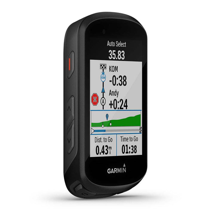 Garmin Edge 830 Touchscreen Bike Computer with Performance Insights‎ - Left Angle