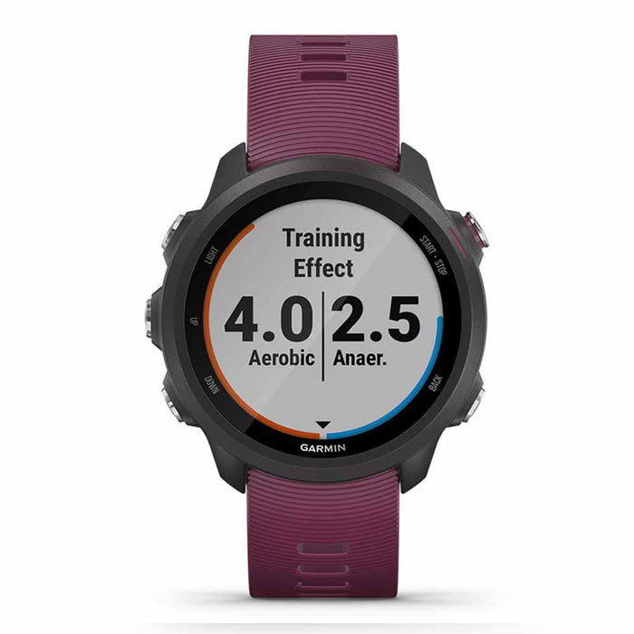 Garmin Forerunner 245 GPS Watch for Running - Berry - Front Angle