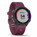 Garmin Forerunner 245 GPS Watch for Running - Berry - Left Angle