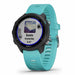 Garmin Forerunner 245 Music GPS Smartwatch for Running - Aqua - Right Angle