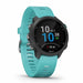 Garmin Forerunner 245 Music GPS Smartwatch for Running - Aqua - Left Angle