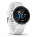 Garmin Forerunner 245 GPS Running Smartwatch with Music - White - Left Angle