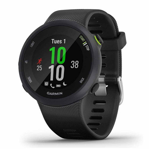 Garmin Forerunner 45 GPS Running Watch - Black - Open Box - Right Angle