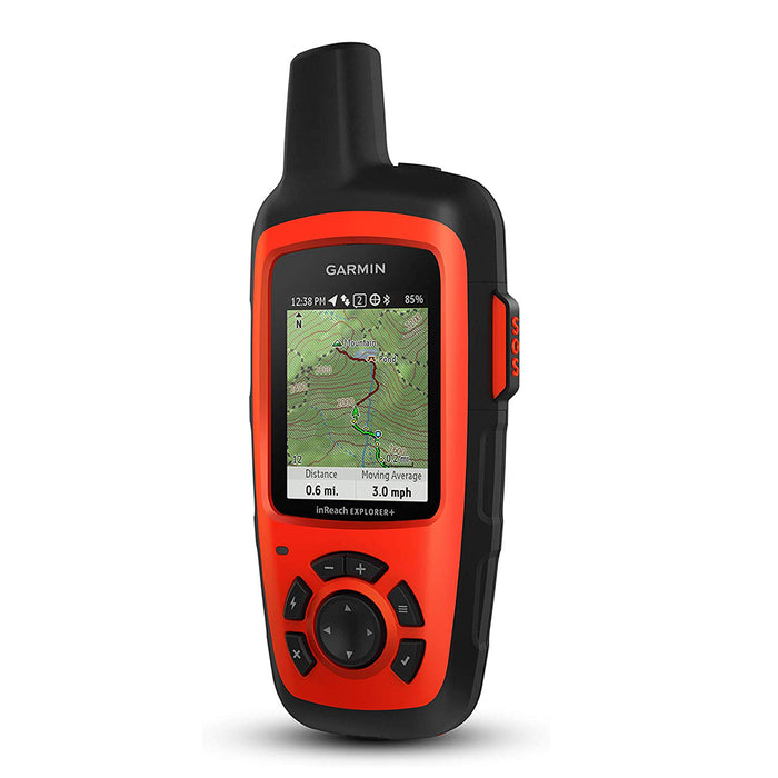 Garmin inReach Explorer+ Handheld Hiking GPS Satellite Communicator