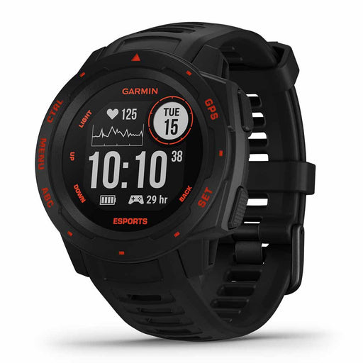 Garmin Instinct Esports GPS Gaming and Fitness Smartwatch - Open Box‎ - Right Angle