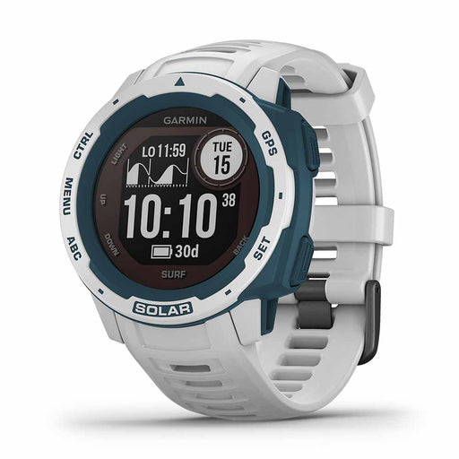 Garmin Instinct Solar Surf GPS Smartwatch - Cloudbreak - Used - Right Angle