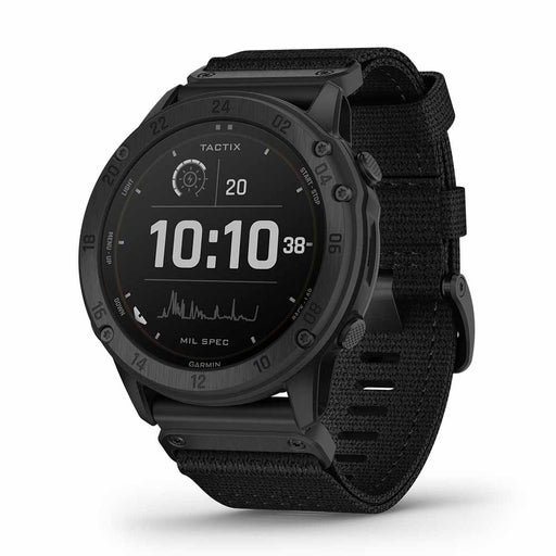 Garmin tactix Delta Solar Tactical GPS Smartwatch - Right Angle