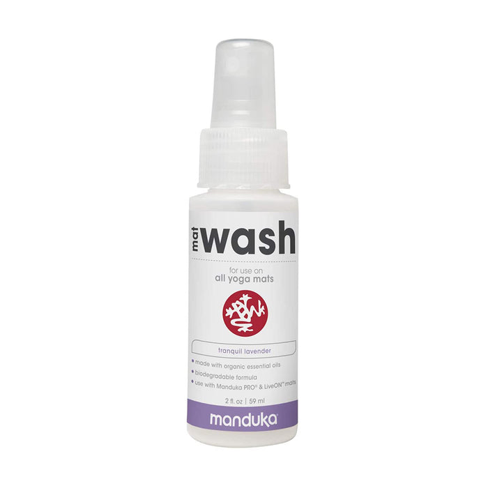 Manduka Yoga Mat Wash Travel Spray (Lavender, 2 oz.)