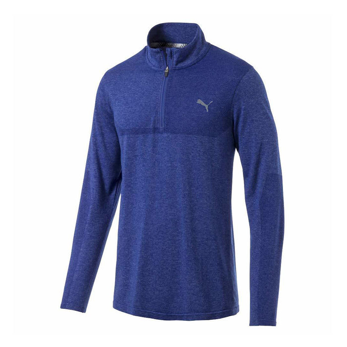 PUMA EVOKNIT 1/4 Zip Golf Sweater