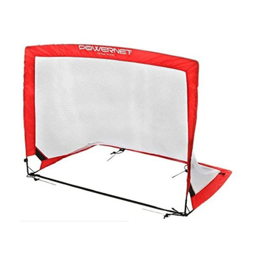 PowerNet 4 x 3 ft. Popup Soccer Goals Rectangle Portable Net