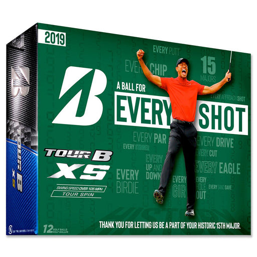 Bridgestone Tour B XS Tiger Woods 2019 Masters Win Golf Balls (Limited Edition Packaging)