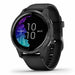 Garmin Venu GPS Sports Smartwatch - Slate Stainless Steel/Black - Used - Right Angle