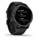 Garmin Venu GPS Sports Smartwatch - Slate Stainless Steel/Black - Used - Left Angle