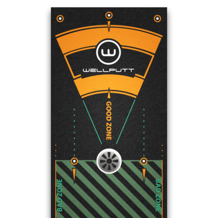 Wellputt Premium Pro 13ft Putting Mat (2020 Edition)