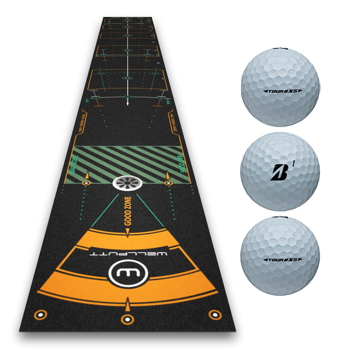 Wellputt 2020 Premium Pro 13ft Putting Mat