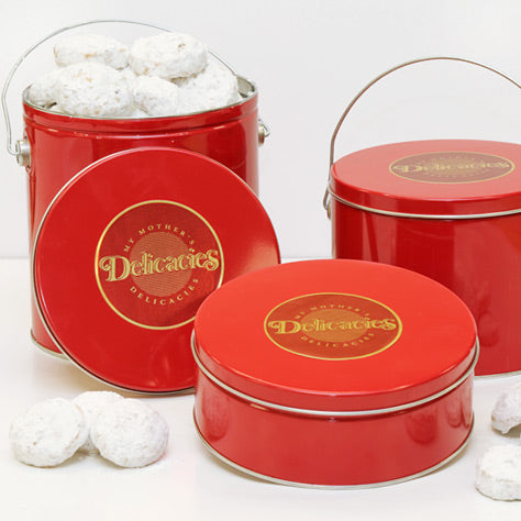 Butter Pecan Snowball Gift Tin