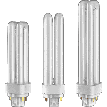 CFL Plugin DOUBLE Twin Tube (4 pin base)