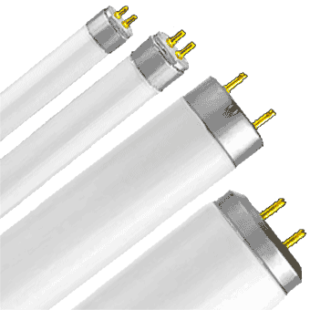 FLUORESCENT Tubes & Bulbs (all sizes / all shapes)