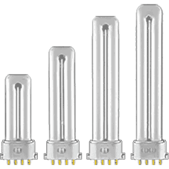 CFL Plugin SINGLE Twin Tube (4 pin base)