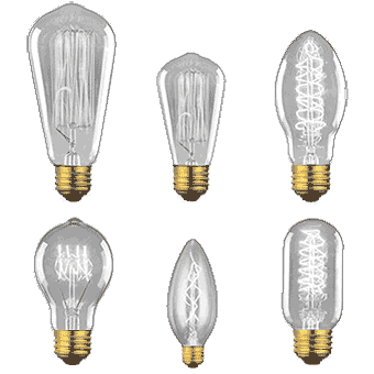 VINTAGE / Antique Style Edison Bulbs