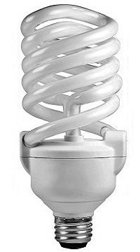 CFL High Watt Twister Light Bulbs