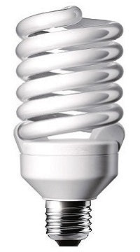 CFL Twister Light Bulbs