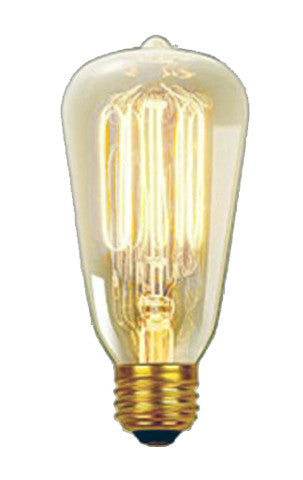 40 watt Edison ST Squirrel Cage Vintage Antique Bulbs