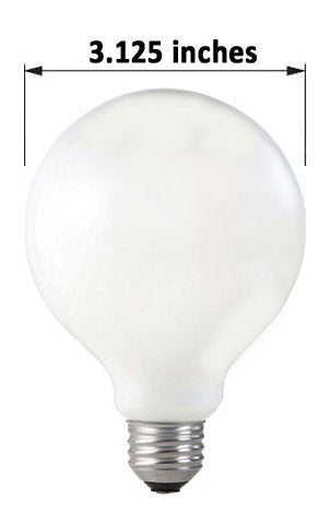 G25 Incandescent Globe Lamp for Canada