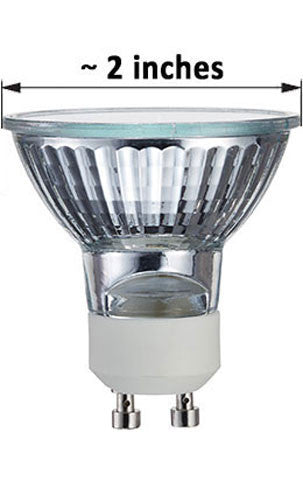 Halogen MR16 - GU10 Base Lamp