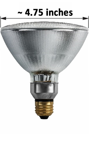 PAR38 Halogen Light Bulb