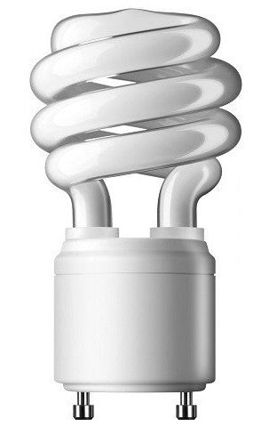 CFL - Pin Based (GU24) - Spiral Twister Light Bulb