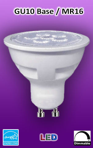 LED MR16 - GU10 Base Light Bulbs for Festival Tower