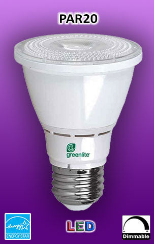 PAR20 E26 LED Bulb - Energy Star